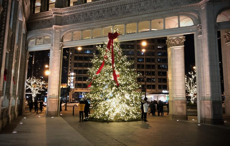 Pre-Christmas in Chicago